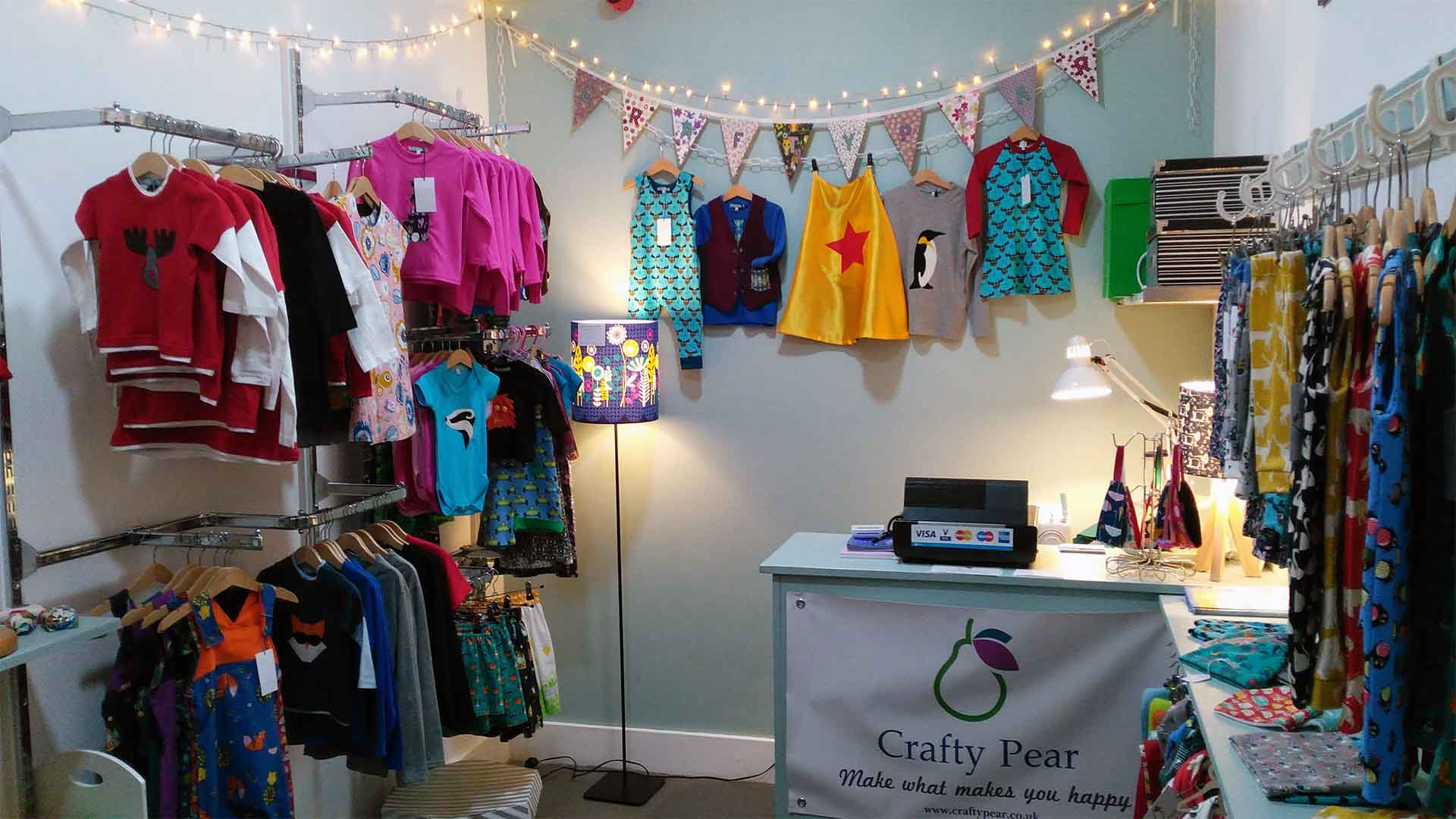 crafty pear children's clothes retail under 1 roof kids
