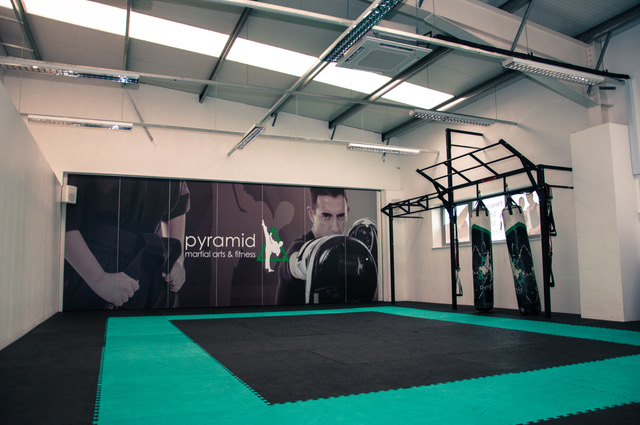 gym space pyramid martial arts under 1 roof kids