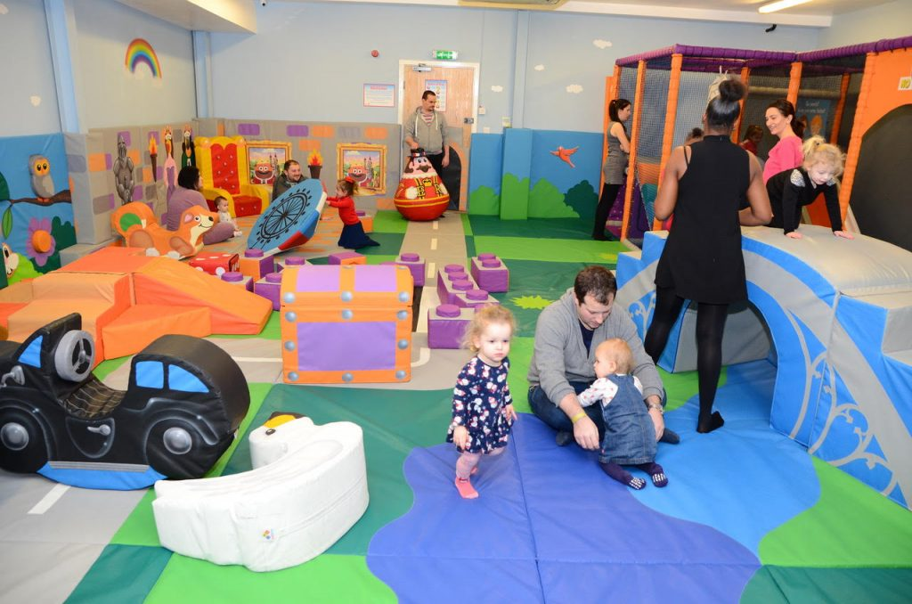 soft play area families