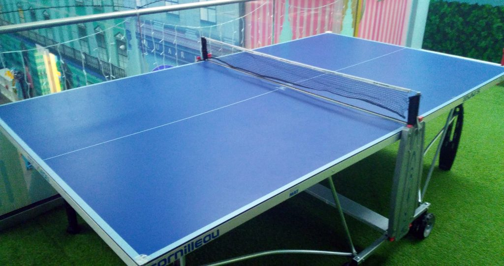 over 5 years table tennis