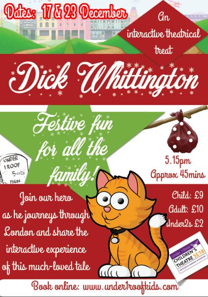 Dick Whittington U2013 U1Ru0027s Panto! This December At Under 1 Roof ...