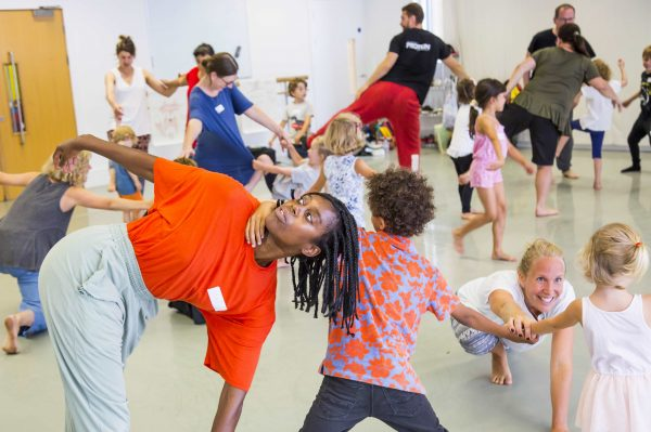 Protein dance theatre The Little Prince family workshop