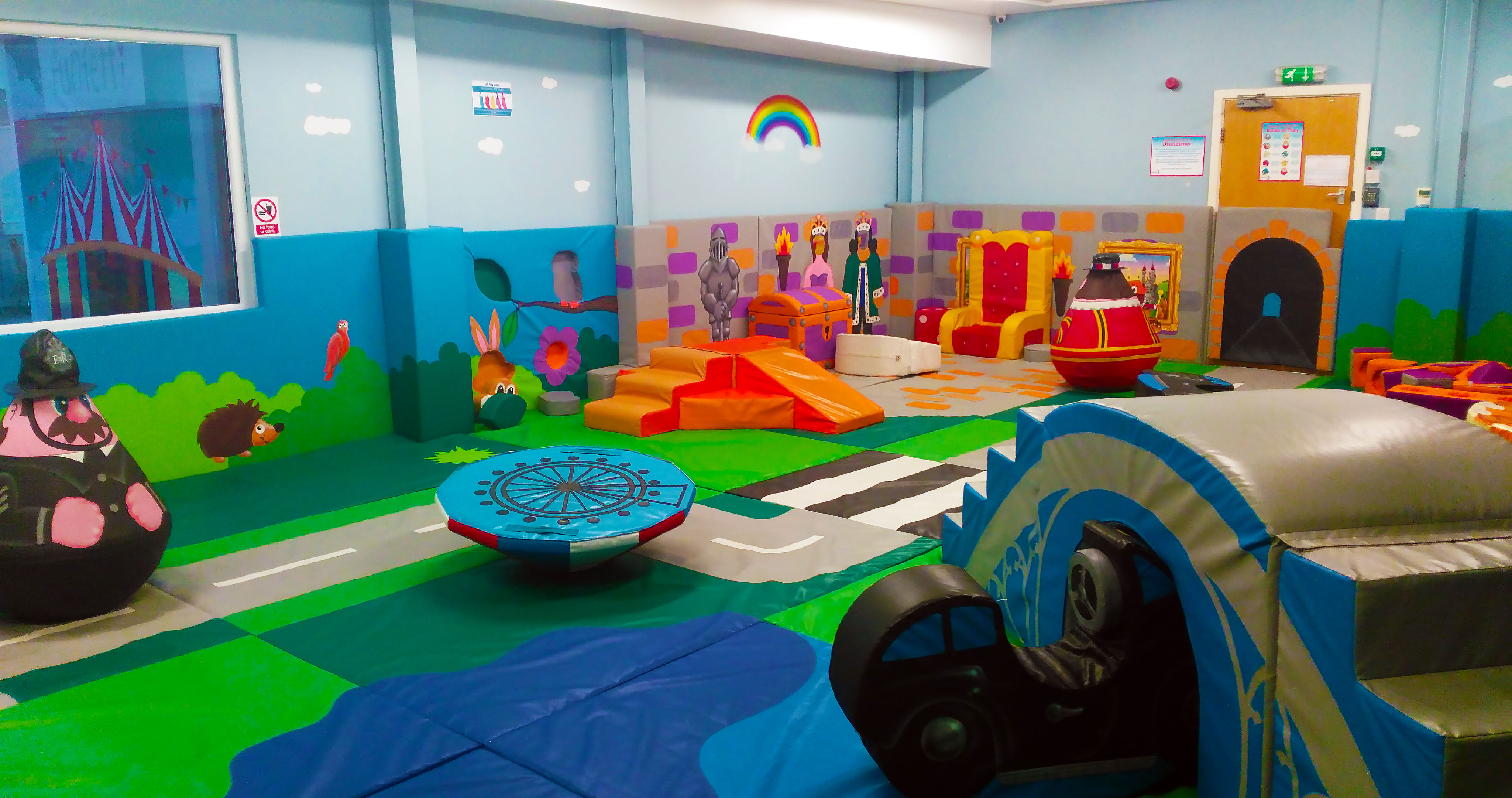 under 1 roof soft play