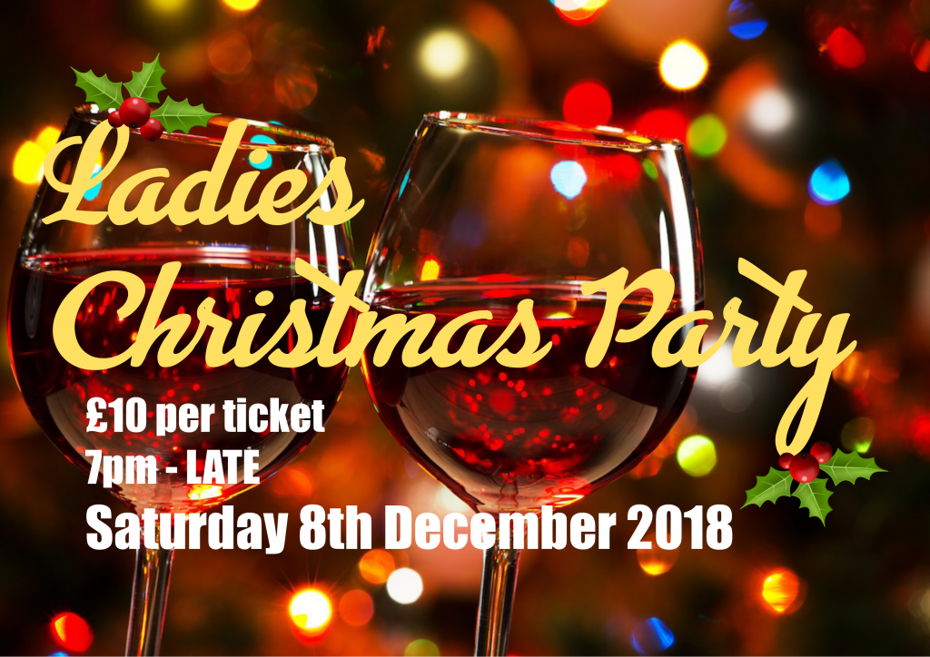 ladies christmas party under 1 roof